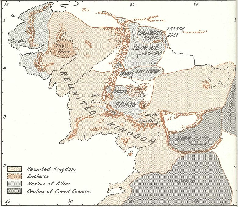 Third Age Maps  Tolkien Forums